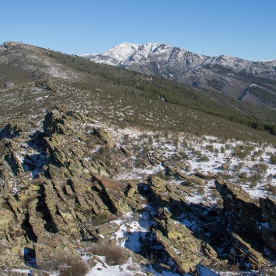 Vistas de la Sierra de Ayllón, desde Robledillo