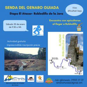 LA SENDA DEL GENARO, GUIADA. ¡APÚNTANTE!