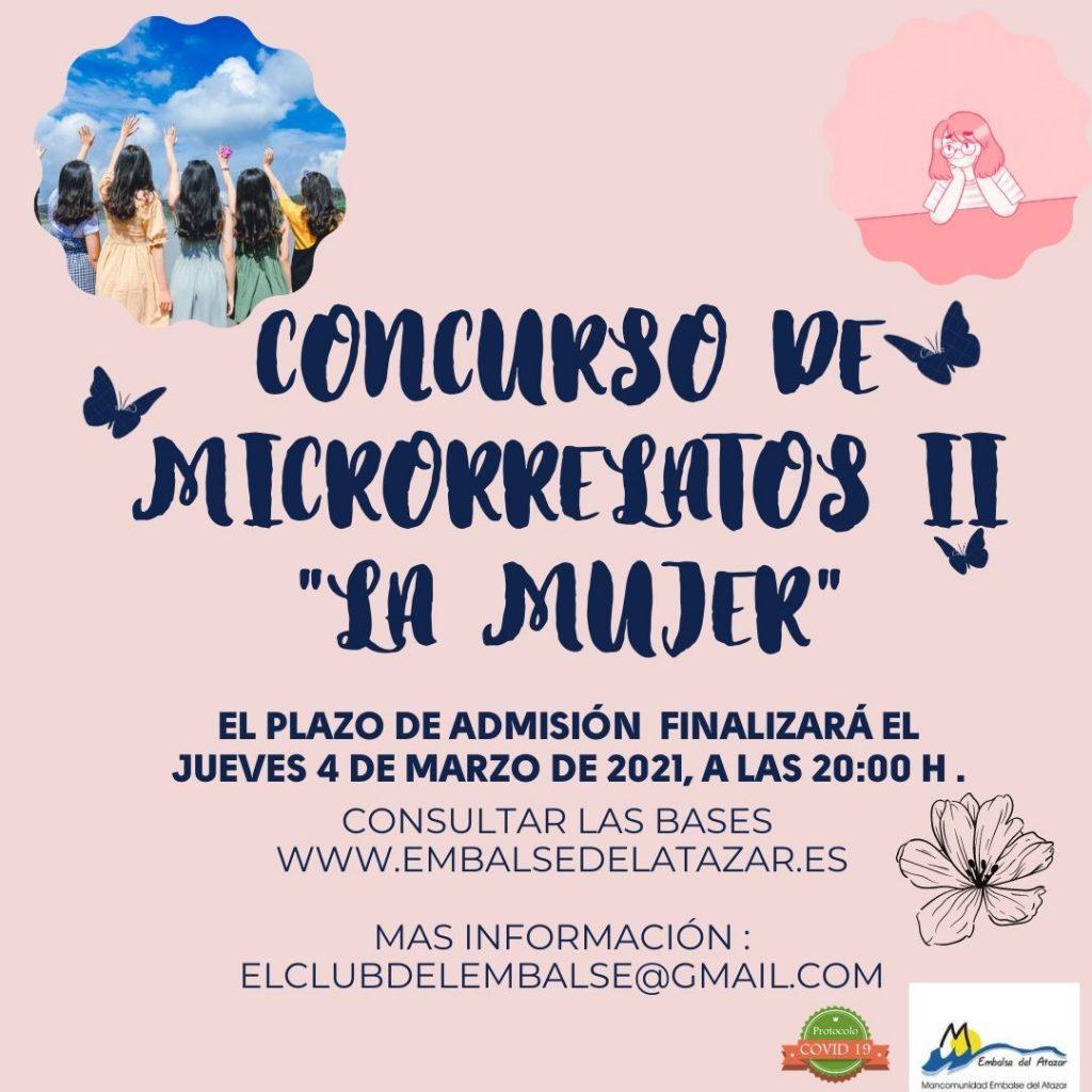"""CONCURSO DE MICRORRELATOS II """"LA MUJER"""""""