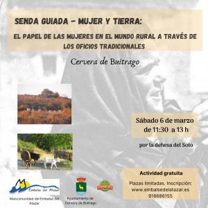 "SENDA GUIADA – ""MUJER Y TIERRA"""