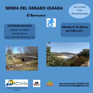 SENDA DEL GENARO GUIADA 27 DE MARZO