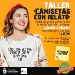 """TALLER """"CAMISETAS CON RELATO"""""""