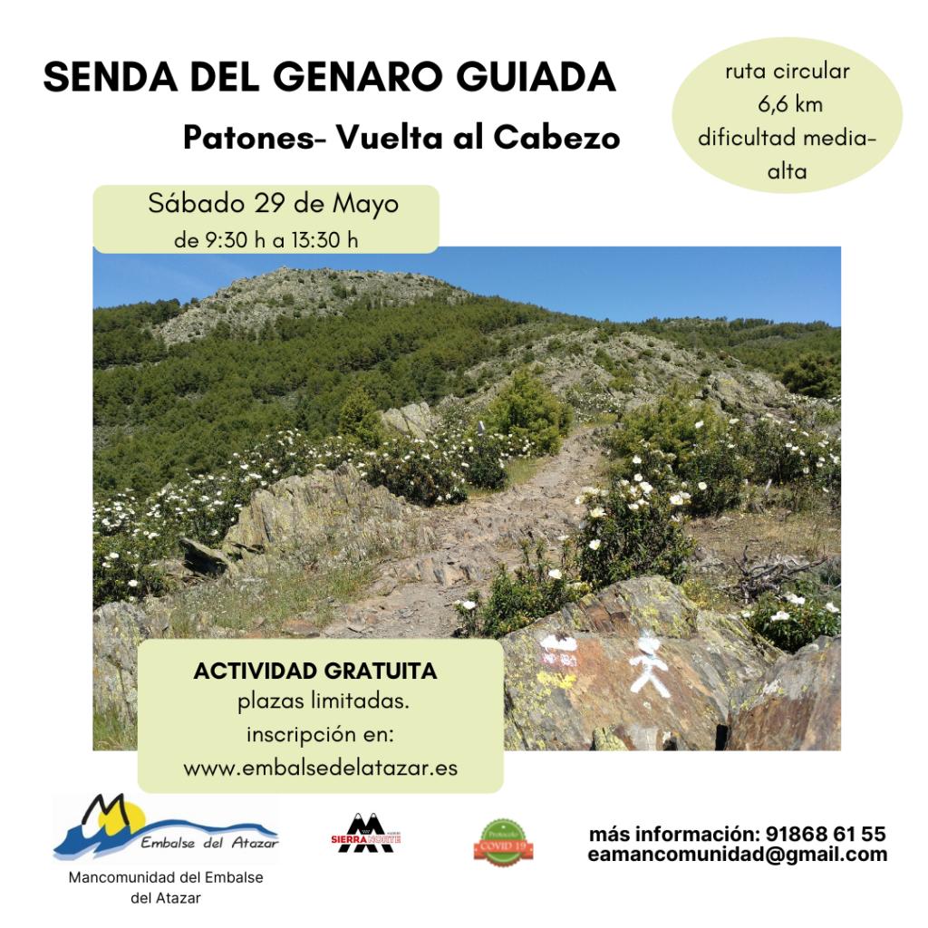 SENDA DEL GENARO GUIADA PATONES  29 DE MAYO