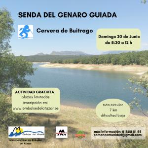 SENDA DEL GENARO GUIADA- CERVERA 20 DE JUNIO